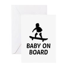 Baby On Board Pun Greeting Card