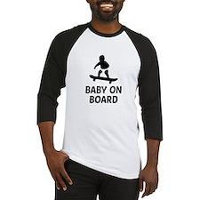 Baby On Board Pun Baseball Jersey