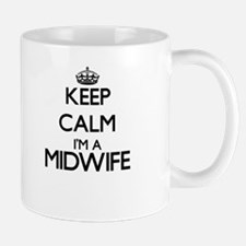 Keep calm I'm a Midwife Mugs