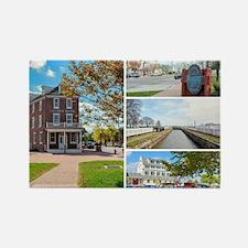 Delaware City, Delaware. Rectangle Magnet