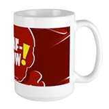 Bert hippo Large Mugs (15 oz)