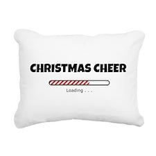 Christmas Cheer Loading Rectangular Canvas Pillow