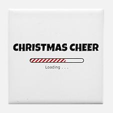 Christmas Cheer Loading Tile Coaster