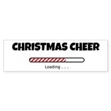 Christmas Cheer Loading Bumper Sticker