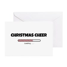 Christmas Cheer Loading Greeting Cards (Pk of 10)