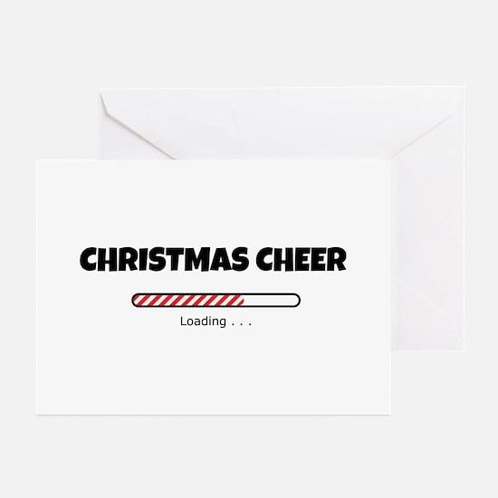 Christmas Cheer Loading Greeting Cards (Pk of 10)