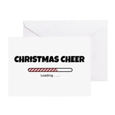 Christmas Cheer Loading Greeting Card