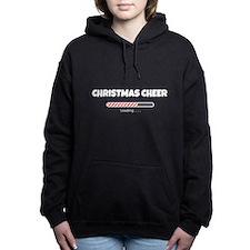 Christmas Cheer Loading Women's Hooded Sweatshirt