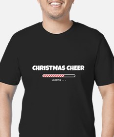 Christmas Cheer Loadin Men's Fitted T-Shirt (dark)