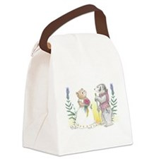 The Wedding of Hamster and Badger Canvas Lunch Bag