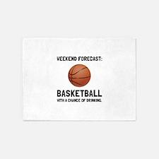 Weekend Forecast Basketball 5'x7'Area Rug