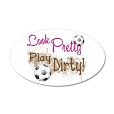 Dirty Soccer Wall Decal