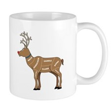 Rudolph - Reindeer Meat for Christmas Mug