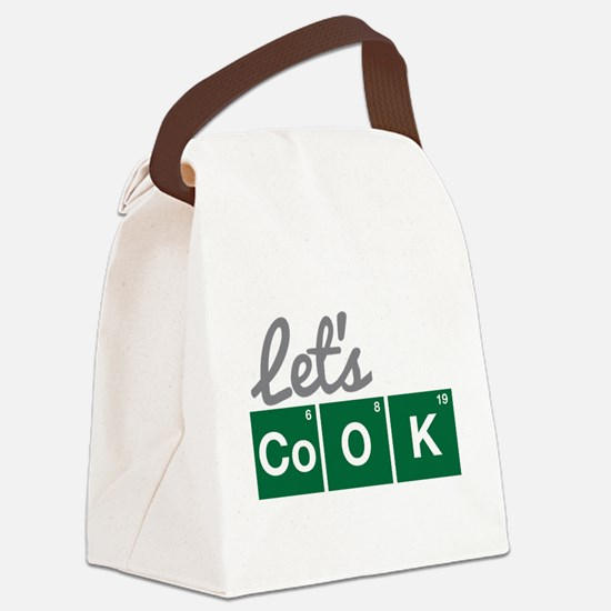 Breaking Bad - Let's Cook Canvas Lunch Bag