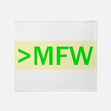 MFW Throw Blanket