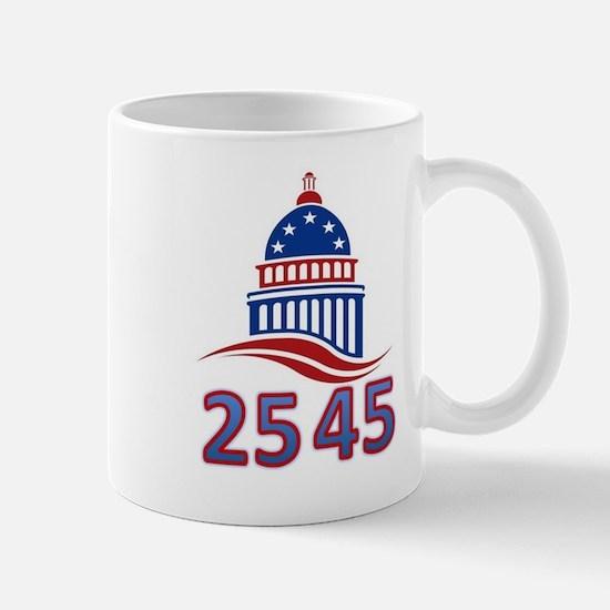 25th Amendment the 45th Presiden Mug