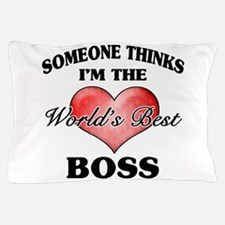 World's Best Boss Pillow Case