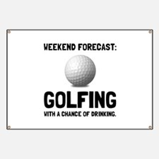 Weekend Forecast Golfing Banner