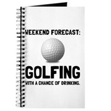 Weekend Forecast Golfing Journal