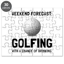 Weekend Forecast Golfing Puzzle