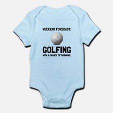 Weekend Forecast Golfing Body Suit