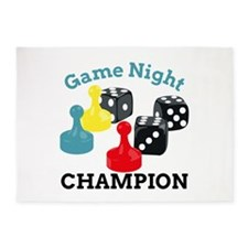 Game Champion 5'x7'Area Rug