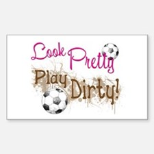 Dirty Soccer Decal