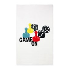 Game On 3'x5' Area Rug