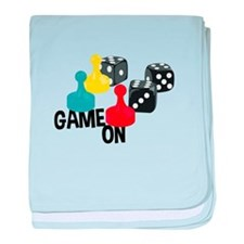 Game On baby blanket