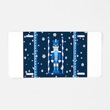 The Nutcracker Blue Aluminum License Plate