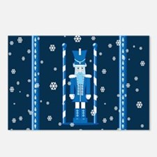 The Nutcracker Blue Postcards (Package of 8)