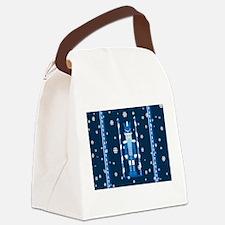 The Nutcracker Blue Canvas Lunch Bag