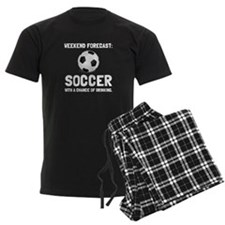 Weekend Forecast Soccer Pajamas