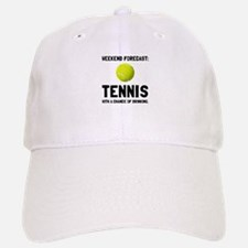 Weekend Forecast Tennis Baseball Cap