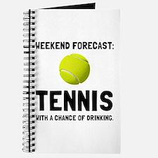 Weekend Forecast Tennis Journal