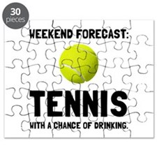 Weekend Forecast Tennis Puzzle