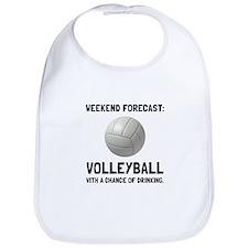 Weekend Forecast Volleyball Bib