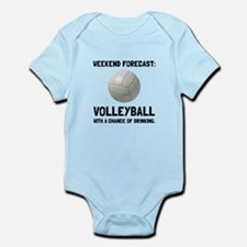 Weekend Forecast Volleyball Body Suit