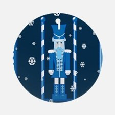 The Nutcracker Blue Ornament (Round)