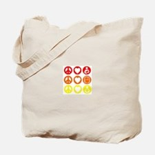 Peace Love and everything! Tote Bag