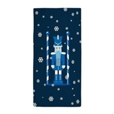 The Nutcracker Blue Beach Towel