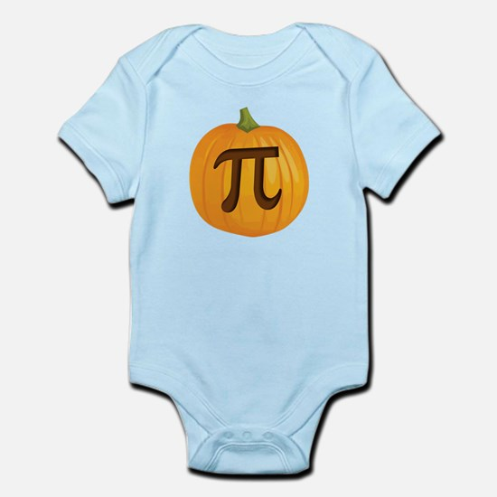Halloween Pumpkin Pie Pi Body Suit
