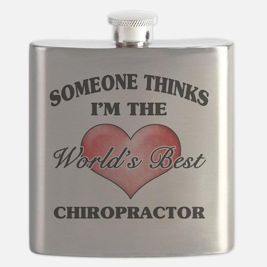 World's Best Chiropractor Flask