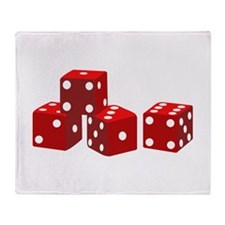 Game Dice Throw Blanket