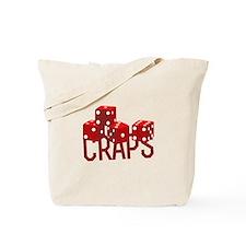 Craps Dice Tote Bag