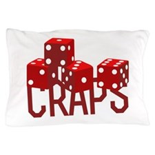 Craps Dice Pillow Case
