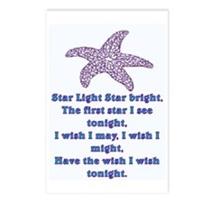 STAR LIGHT - STAR BRIGHT Postcards (Package of 8)