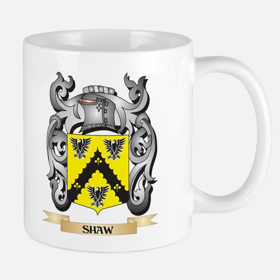 Shaw- Coat of Arms - Family Crest Mugs