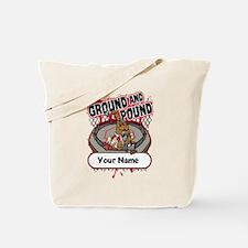 Custom Ground and Pound MMA Tote Bag