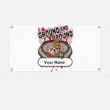 Custom Ground and Pound MMA Banner